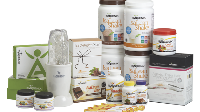 Isagenix Systems and Paks Overview